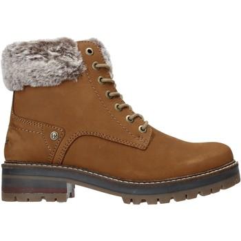 Topánky Ženy Čižmičky Wrangler WL92524A Hnedá