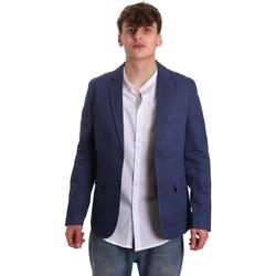 Oblečenie Muži Saká a blejzre Gaudi 011BU35025 Modrá