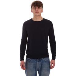 Oblečenie Muži Svetre Gaudi 011BU53024 Modrá