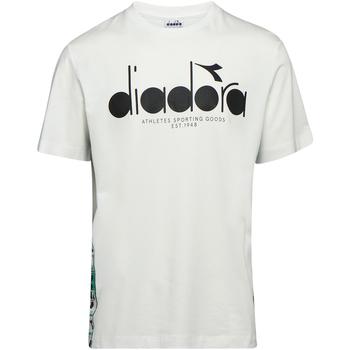 Oblečenie Muži Tričká s krátkym rukávom Diadora 502176630 Béžová
