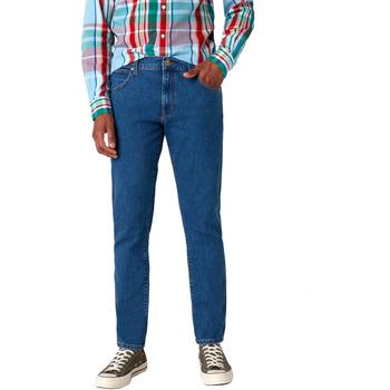 Oblečenie Muži Rifle Slim  Wrangler W18SHR36B Modrá