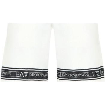 Oblečenie Muži Plavky  Ea7 Emporio Armani 3HPS56 PJ05Z Biely