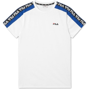 Oblečenie Muži Tričká s krátkym rukávom Fila 687700 Biely