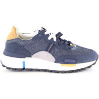 Topánky Muži Nízke tenisky Wrangler WM01123A Modrá