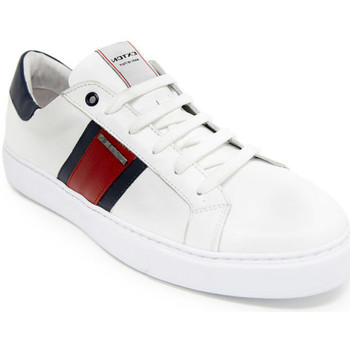 Topánky Muži Nízke tenisky Exton 861 Biely