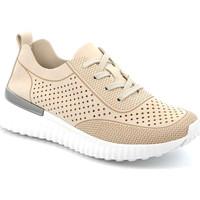 Topánky Ženy Nízke tenisky Grunland SC4906 Béžová