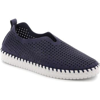 Topánky Ženy Slip-on Grunland SC4910 Modrá
