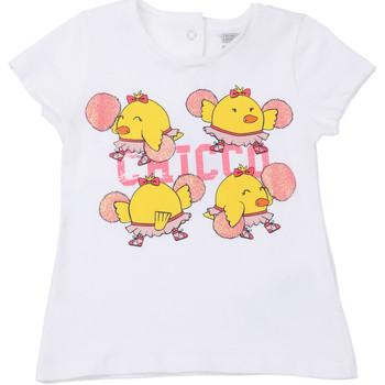 Oblečenie Deti Tričká s krátkym rukávom Chicco 09006955000000 Biely