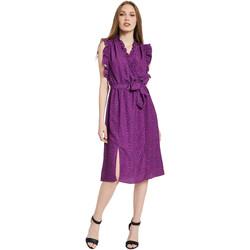 Oblečenie Ženy Dlhé šaty Gaudi 011BD15004 Fialový