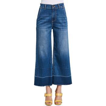 Oblečenie Ženy Rifle Bootcut  Gaudi 011BD26030 Modrá