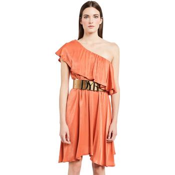 Oblečenie Ženy Krátke šaty Denny Rose 011ND15020 Oranžová