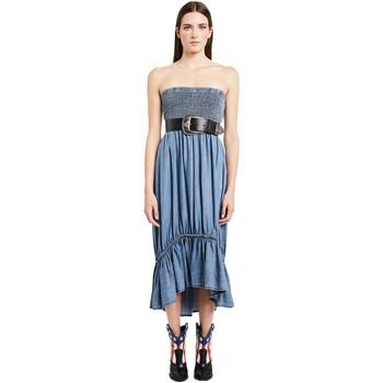 Oblečenie Ženy Dlhé šaty Denny Rose 011ND16002 Modrá