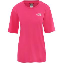 Oblečenie Ženy Krátke šaty The North Face NF0A4CESWUG1 Ružová