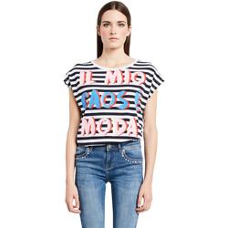 Oblečenie Ženy Tričká s krátkym rukávom Denny Rose 011ND64017 Biely