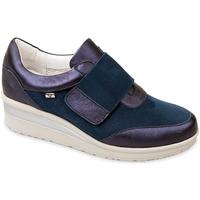 Topánky Ženy Slip-on Valleverde V20370 Modrá