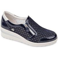 Topánky Ženy Slip-on Valleverde 18152 Modrá