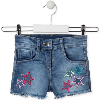 Oblečenie Deti Šortky a bermudy Losan 016-6016AL Modrá