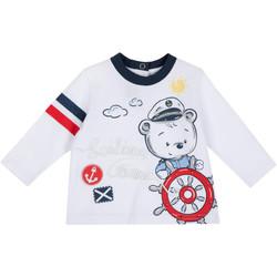 Oblečenie Deti Tričká s dlhým rukávom Chicco 09006877000000 Biely