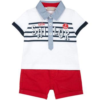 Oblečenie Deti Komplety a súpravy Chicco 09076394000000 Biely