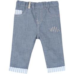 Oblečenie Deti Nohavice päťvreckové Chicco 09008117000000 Modrá