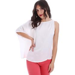 Oblečenie Ženy Blúzky Gaudi 011FD45057 Biely
