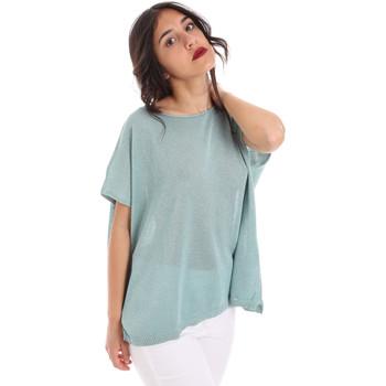Oblečenie Ženy Blúzky Gaudi 011FD53011 Modrá