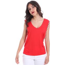 Oblečenie Ženy Blúzky Gaudi 011FD64008 Červená