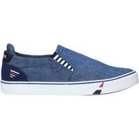 Topánky Muži Slip-on Navigare NAM010006 Modrá