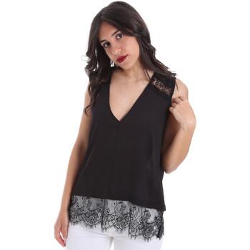 Oblečenie Ženy Blúzky Gaudi 011FD45055 čierna