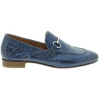 Topánky Ženy Mokasíny Mally 6105 Modrá
