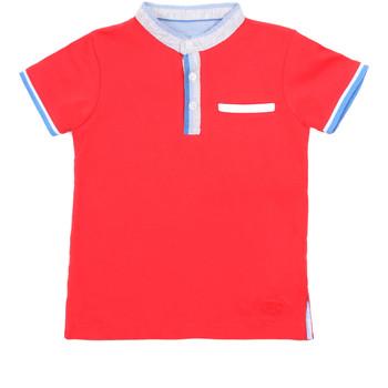 Oblečenie Deti Polokošele s krátkym rukávom Losan 015-1791AL Červená