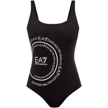 Oblečenie Ženy Plavky jednodielne Ea7 Emporio Armani 911128 0P427 čierna