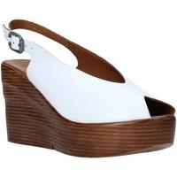 Topánky Ženy Sandále Bueno Shoes Q6100 Biely
