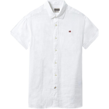 Oblečenie Muži Košele s krátkym rukávom Napapijri NP000IF1 Biely