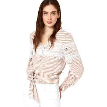 Oblečenie Ženy Blúzky Liu Jo FA0183 T4169 Béžová