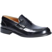 Topánky Muži Mokasíny Exton 102 čierna