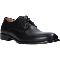 Topánky Muži Richelieu Exton 1374 čierna