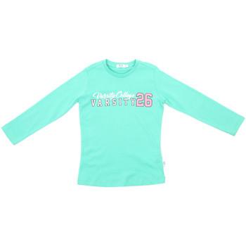 Oblečenie Deti Tričká s dlhým rukávom Melby 70C5615 Zelená