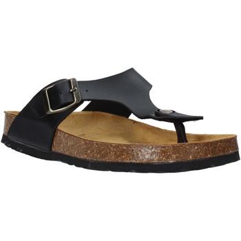Topánky Deti Žabky Bamboo BAM-222 čierna