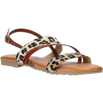 Topánky Ženy Sandále Jeiday JUNGLA-SALLY Hnedá