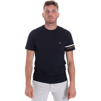 Oblečenie Muži Tričká s krátkym rukávom Les Copains 9U9014 Modrá
