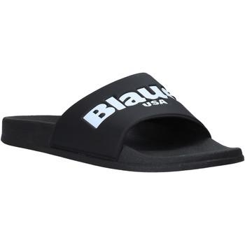 Topánky Muži športové šľapky Blauer S0BAY02/PUC čierna