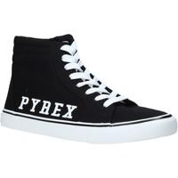 Topánky Muži Členkové tenisky Pyrex PY020203 čierna