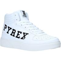 Topánky Ženy Členkové tenisky Pyrex PY020234 Biely