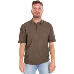 Oblečenie Muži Polokošele s krátkym rukávom Les Copains 9U9016 Hnedá
