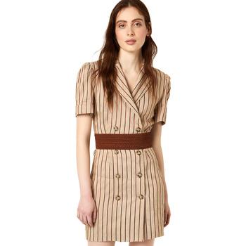 Oblečenie Ženy Krátke šaty Liu Jo FA0213 T4197 Béžová
