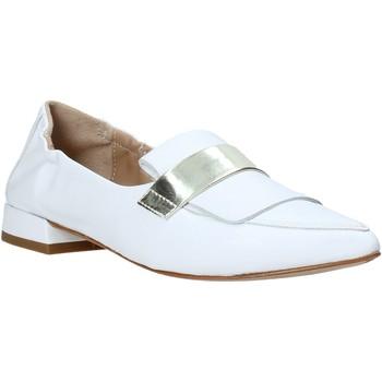 Topánky Ženy Mokasíny Mally 6926 Biely