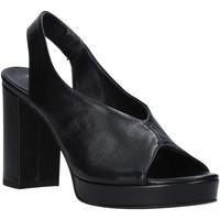 Topánky Ženy Sandále Mally 6843 čierna
