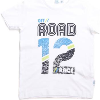 Oblečenie Deti Tričká s krátkym rukávom Melby 70E5544 Biely