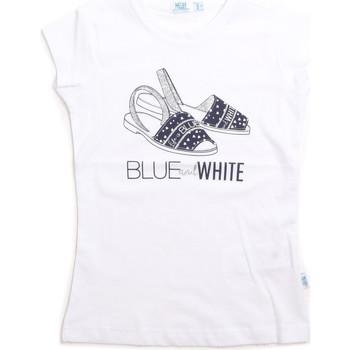 Oblečenie Deti Tielka a tričká bez rukávov Melby 70E5645 Biely